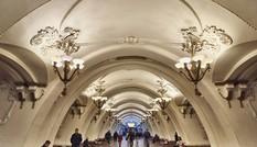 Một ngày khám phá ga tàu điện ngầm như cung điện ở Moskva