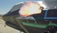 Xem pháo GAU-22 Gatling của tiêm kích F-35 bắn 55 viên đạn mỗi giây
