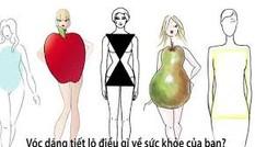 Hình dáng cơ thể bạn tiết lộ nguy cơ sức khỏe như thế nào