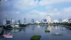 Ngắm Hà Nội khác lạ từ khoang tàu đường sắt trên cao