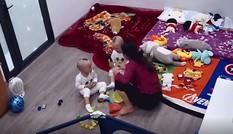 Phẫn nộ nữ giúp việc bạt tai, quăng quật bé trai 2 tuổi
