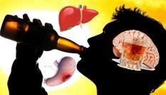 Rượu bia gây 7 loại ung thư và 200 bệnh