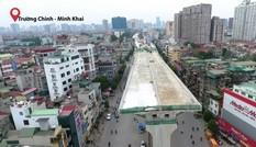 Đại công trường trên cao 9.400 tỷ xuyên 'đường cong mềm mại' ở thủ đô
