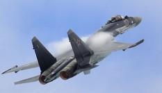 Xem chiến đấu cơ Su-35S Nga ném bom phá hủy mục tiêu