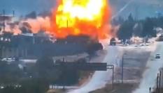 Đoàn xe tuần tra của Nga ở Syria bị đánh bom