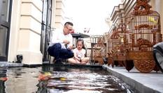 Bể cá Koi tiền tỷ trên sân thượng