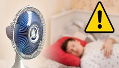 Vì sao không nên để quạt thổi trực tiếp vào cơ thể khi ngủ?