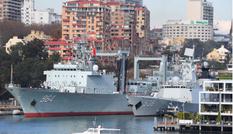 Bất ngờ thăm Úc, đội tàu quân sự Trung Quốc gây dư luận hoài nghi