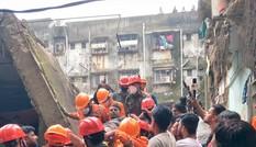 Sập nhà tầng ở Ấn Độ, hàng chục người thương vong
