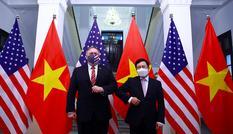 Phó Thủ tướng Phạm Bình Minh hội đàm với Ngoại trưởng Mỹ