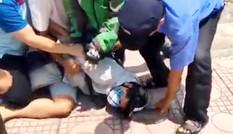 Kẻ bịt mặt nghi cầm súng cướp ngân hàng giữa ban ngày tại Hà Nội