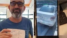 Tước GPLX, phạt gần 5 triệu đồng tài xế taxi 'chặt chém' khách nước ngoài