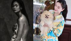 Showbiz 3/8: Bảo Thy diện pijama hàng hiệu, Mâu Thủy tủng ảnh nude táo bạo