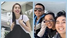 Thuỷ Tiên gửi lời cảm ơn tới những người ủng hộ; Bộ ba HLV Rap Việt đi thư giãn