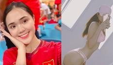 Dàn bạn gái hotgirl của cầu thủ Việt chia sẻ gì sau chiến thắng?