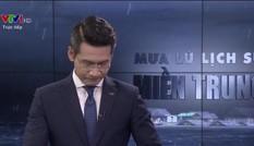 BTV Tuấn Dương chính thức lên tiếng về sự cố khi dẫn live về bão lũ miền Trung