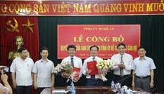 Tỉnh ủy Nghệ An bổ nhiệm cán bộ chủ chốt