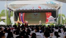 """Ngày hội """"Thắm tình hữu nghị đặc biệt Việt Nam - Lào"""" 2019"""