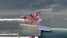 Tìm kiếm người đàn ông say rượu bị đuối nước trên sông Lam