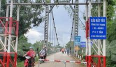 Tai nạn 5 người tử vong ở Nghệ An: Cầu treo xuống cấp nghiêm trọng