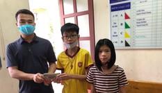 Học sinh lớp 7 nhặt được 50 triệu đồng trả lại người đánh rơi