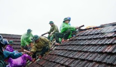 Chưa đầy 1 phút lốc xoáy, 29 nhà dân ở Hà Tĩnh hư hỏng