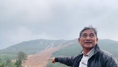 Núi lở, nhiều khối đất đá 'khổng lồ' đổ xuống ruộng