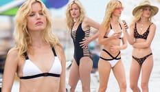 Con gái huyền thoại Rolling Stones hóa thiên thần bikini quyến rũ