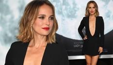 'Thiên nga đen' Natalie Portman diện đầm hở ngực quá táo bạo
