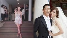 Lâm Chí Linh váy ngắn 'quẩy' thâu đêm sau đám cưới cổ tích