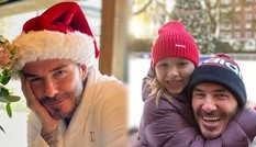 Bà Becks đăng ảnh chồng David Beckham hóa ông già Noel gây 'sốt'
