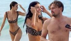 Leo DiCaprio quấn quýt bên bạn gái gợi cảm kém 23 tuổi