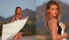 Siêu mẫu Úc Georgia Gibbs trẻ đẹp đầy sức sống thanh xuân