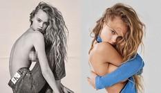 Nàng mẫu cao 1m80 Olivia Vinten bán nude tôn ngực đầy