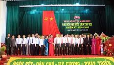 Đồng chí Võ Văn Thưởng dự Đại hội Đảng bộ huyện Mang Thít, Vĩnh Long