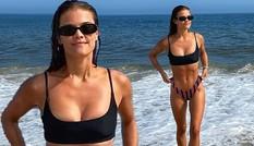 Siêu mẫu Đan Mạch Nina Agdal căng đầy sức sống trên biển