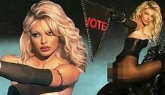 Kendall Jenner rực lửa khi hóa thân thành 'quả bom gợi cảm' Pamela Anderson