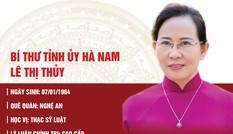Chân dung Bí thư Tỉnh ủy Hà Nam Lê Thị Thủy