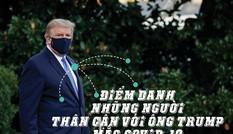 Những người thân cận với Tổng thống Trump mắc COVID-19