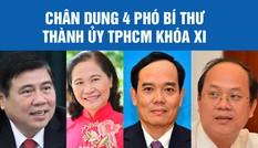 Bốn Phó Bí thư Thành ủy TPHCM là những ai?