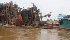 Dừng cấp phép dự án hút cát trên sông Hồng, sông Đuống