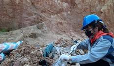 Lộ diện đối tượng đổ trộm chất thải nguy hại trên núi Sóc Sơn