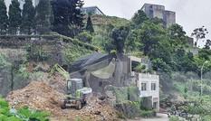 Nhiều công trình xẻ núi, san đồi ở Tam Đảo: Tỉnh quyết liệt, cấp dưới làm ngơ?