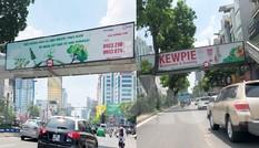 Phát hiện nhiều biển quảng cáo tiền tỷ tại Hà Nội hoạt động 'chui'