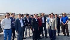 Chủ tịch Hà Nội thị sát công trường nút giao hơn 400 tỷ đồng