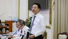 """Bộ trưởng Nguyễn Mạnh Hùng: Phải xác định dữ liệu quý như """"dầu mỏ"""""""