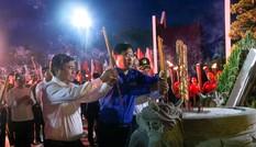 Tuổi trẻ Việt Nam tri ân các anh hùng liệt sĩ