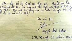 Tử tù Nghĩa viết gì trong lá thư trước giờ thi hành án