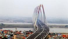 Thay quảng cáo trên cầu, đường Nhật Tân bằng chủ đề quan hệ Việt-Nhật