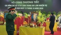 Lễ viếng 13 liệt sĩ hy sinh ở Rào Trăng: Vượt mưa lũ để nhìn mặt đồng chí lần cuối